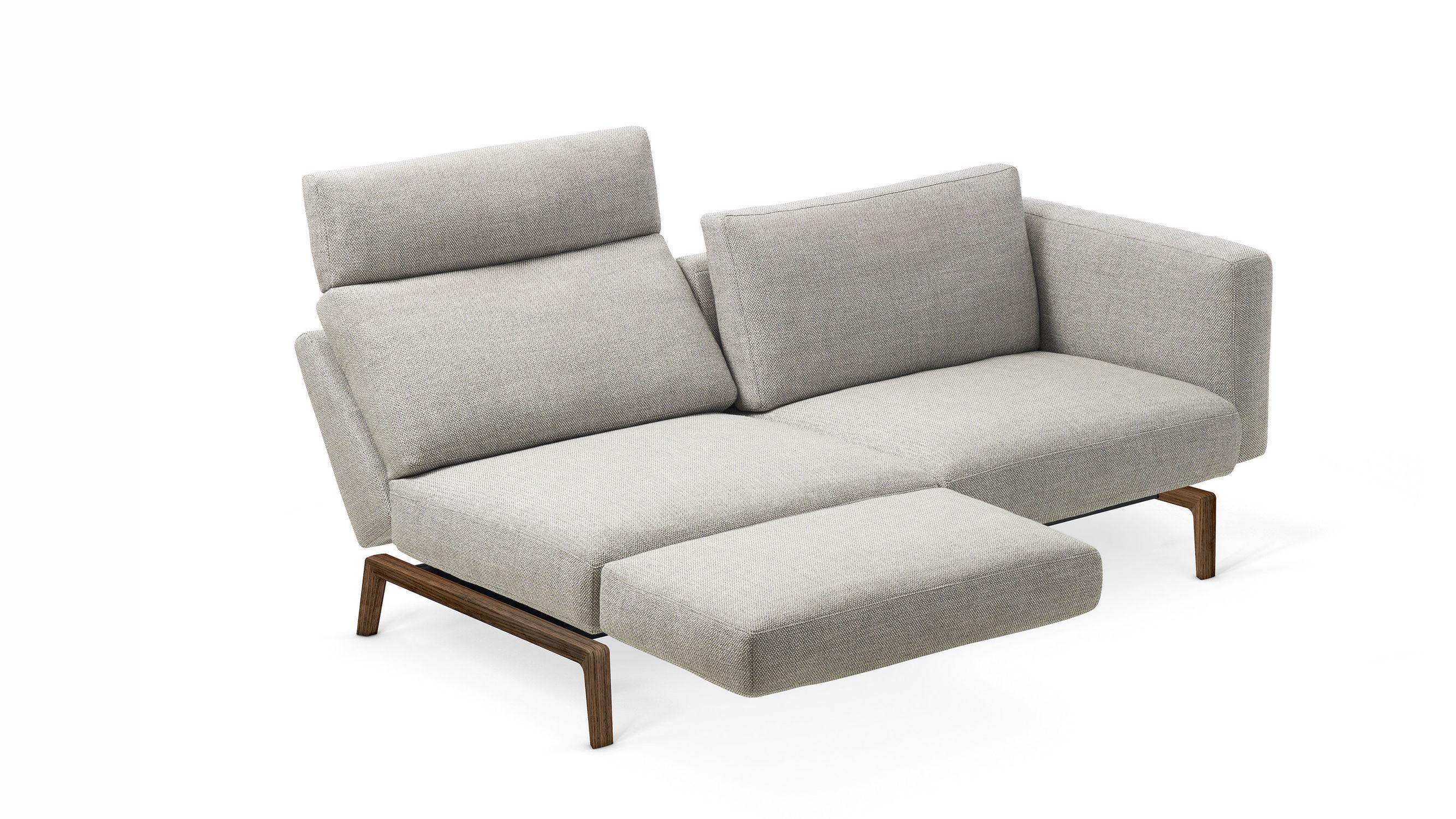 Modernes Sofa / Leder / Stoff / 2 Plätze - 1424 SMART by Werner ...