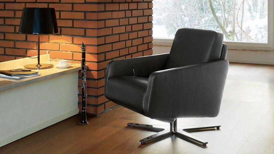 Moderner Sessel Stoff Leder Verstellbar 1303 Nano By Martin