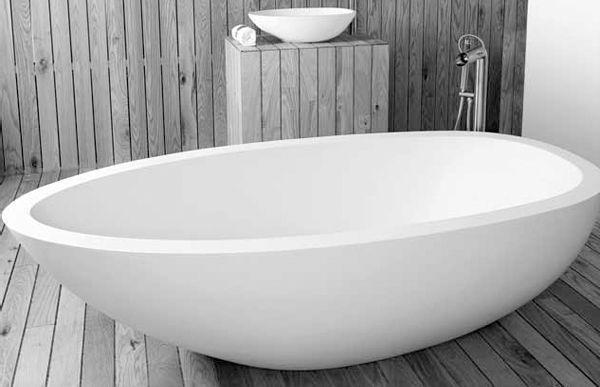 Badewanne Oval Freistehend freistehende badewanne oval quarz elaine dado creations pty