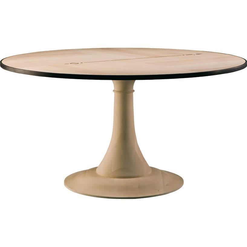 Klassischer Tisch / Aus Ahorn / Aus Ebenholz / Rund   NORD SUD