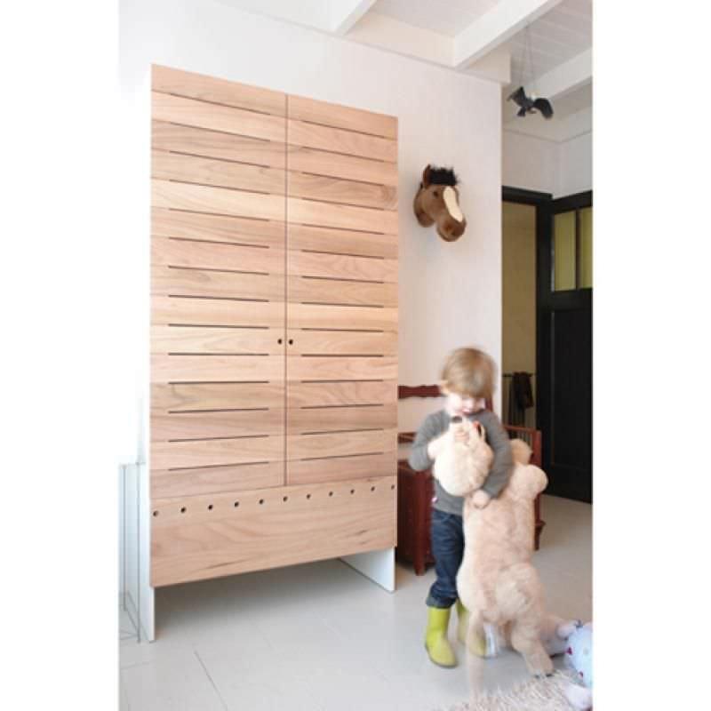 kleiderschranke fur kinderzimmer, moderner kleiderschrank / holz / schwingtüren / für kinder - grutsk, Design ideen