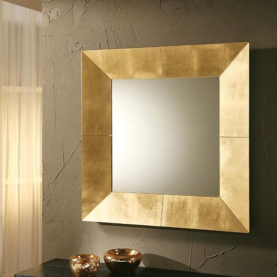 wandmontierter spiegel / modern / quadratisch / kupfer - royal ... - Spiegel Modern
