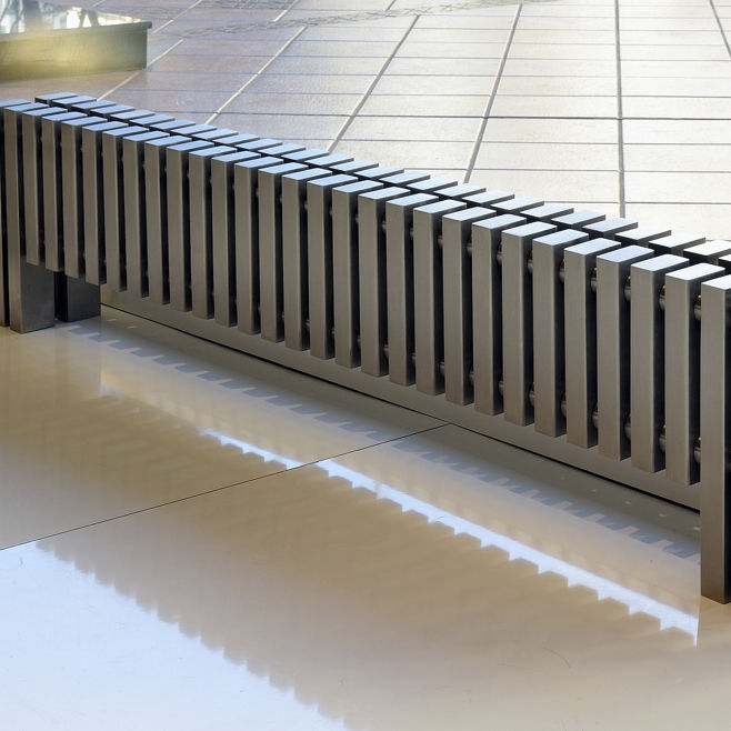 Freistehende Heizkörper heißwasser heizkörper metall modern horizontal cadence