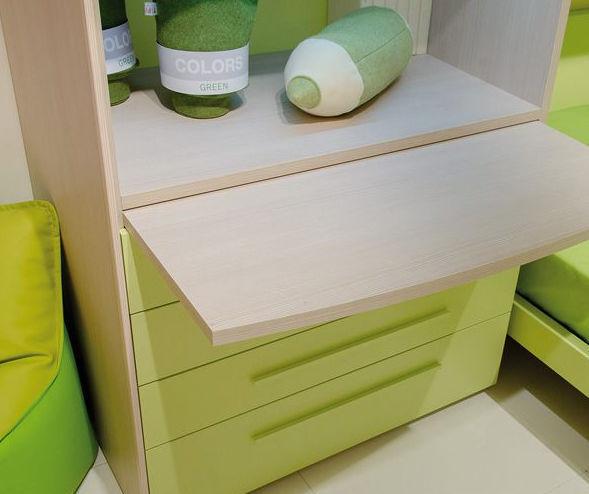 Holz-Schreibtisch / modern / für Kinder / mit Regal - moretticompact