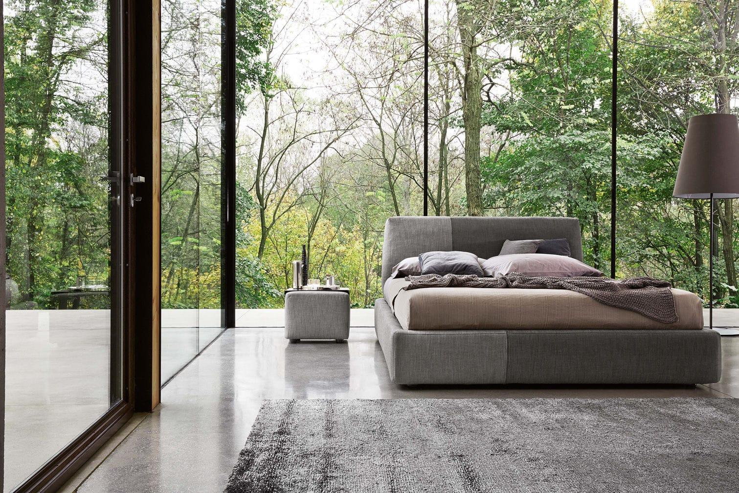 Standardbett / Doppelt / Modern / Stoff SANDERS By Spessotto U0026 Agnoletto Ditre  Italia