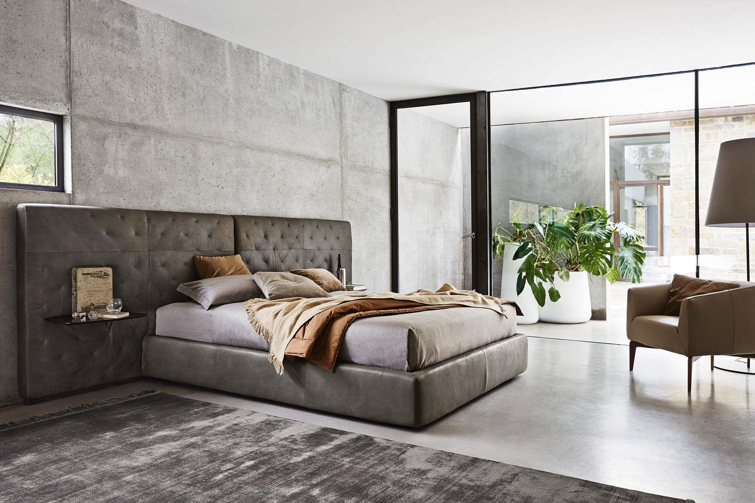 Standardbett / Doppelt / Modern / Stoff   ECLECTICO By Spessotto U0026 Agnoletto
