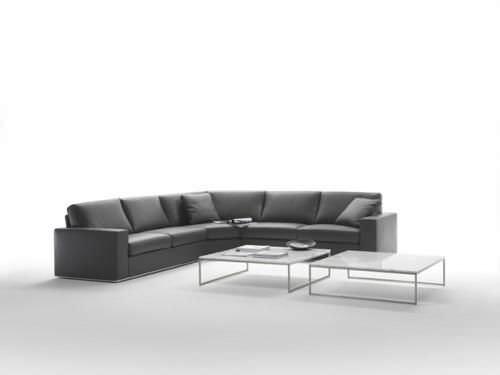 Eckcouch modern leder  Ecksofa / modern / Leder / 4 Plätze - MILANO by Studio crGM ...