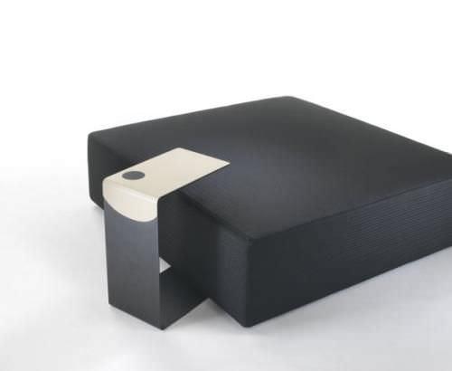 Moderner Couchtisch / Leder / quadratisch / Innenraum - MINI by ...