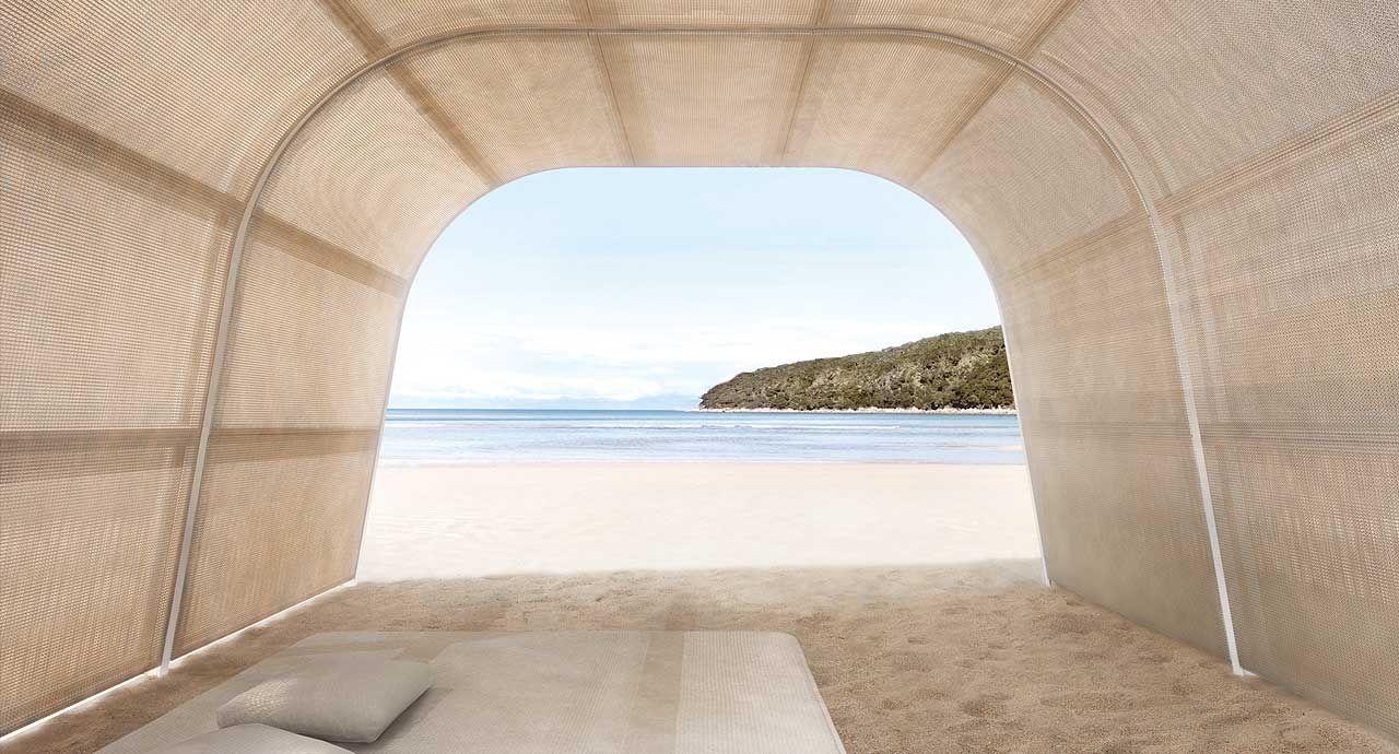aluminium-pavillon / holz - cabanne by bestetti associati - paola, Gartengerate ideen