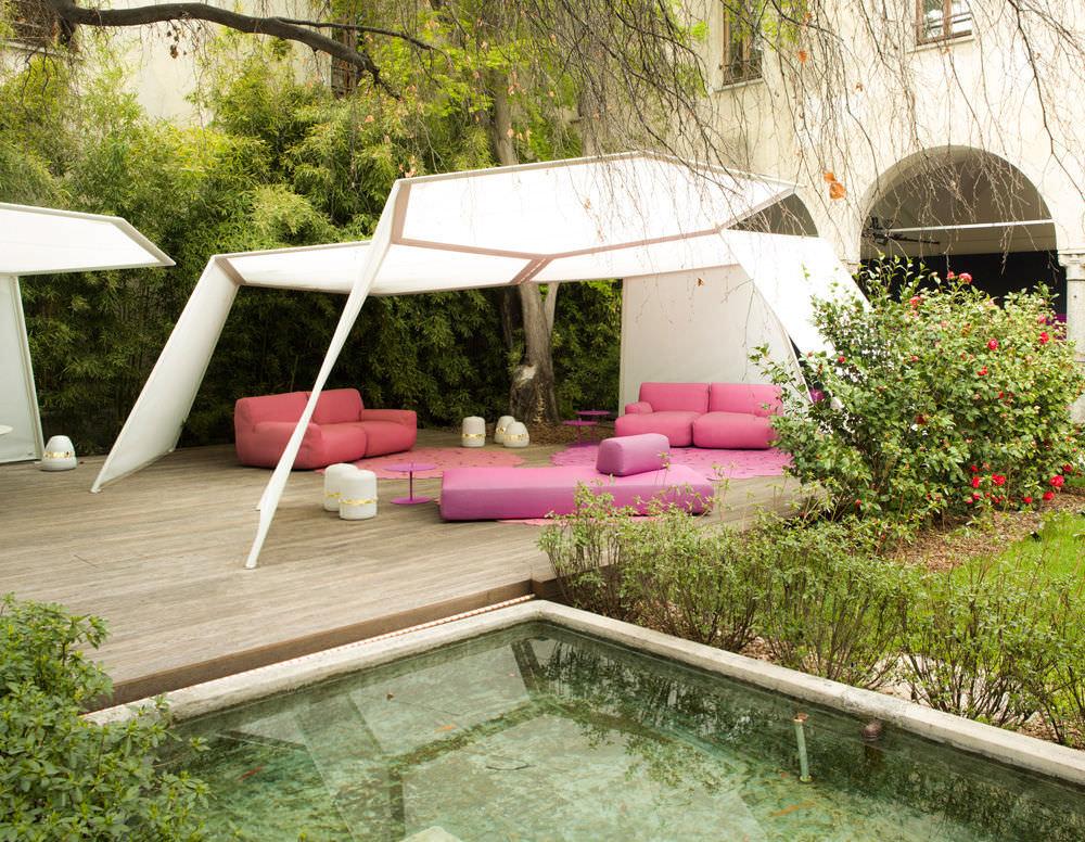Cabanne Gartenpavillon mit quadratischer Ausführung