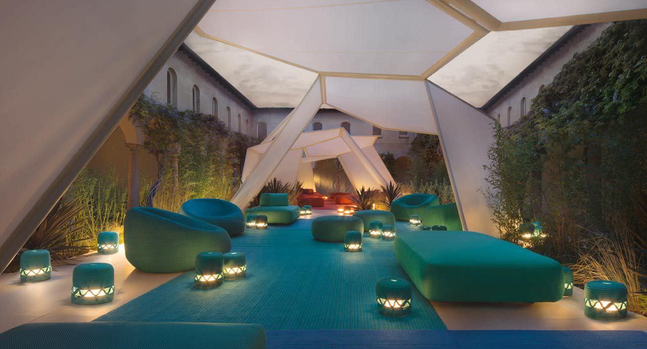 Stoffpavillon / Aus Stahl / Aluminium - Pavilion By Renato J ... Gartenpavillon Aus Aluminium