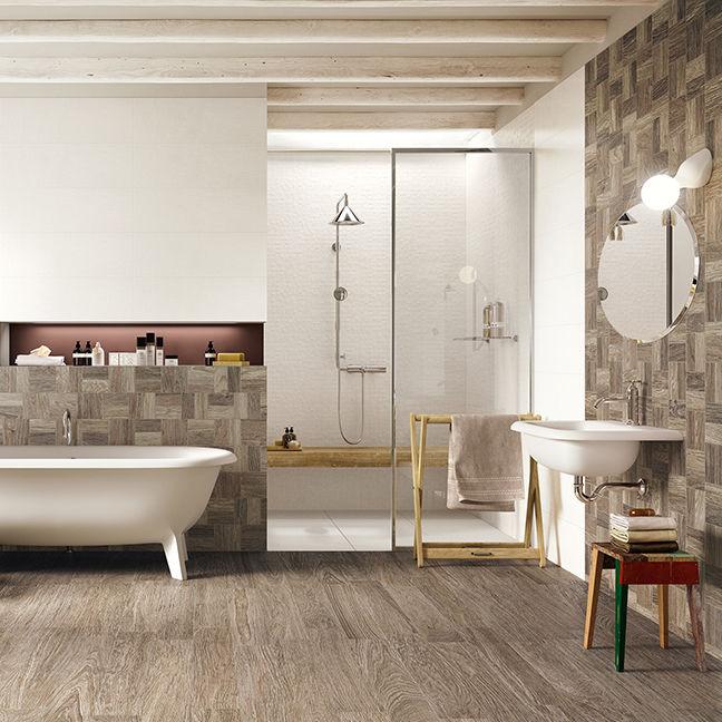 Badezimmer-Fliesen / Für Wände / Für Böden / Feinsteinzeug