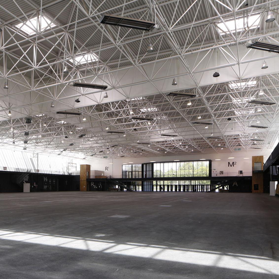 Metall-Dachstuhl / für Bedachungen - PARC DES EXPOSITIONS - Lanik