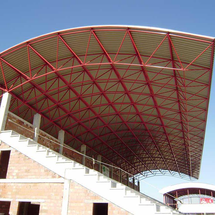 Metall-Dachstuhl für Überdachung - TRIBUNA VIATOR - Lanik