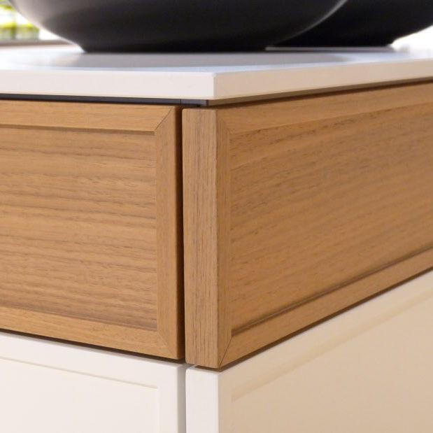 Laminat-Arbeitsplatte / Holz / aus Granit / für Küchen - POGGENPOHL