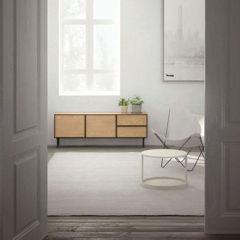 Modernes Sideboard / Holz / Mit Regal / Modular   NARA By Odosdesign
