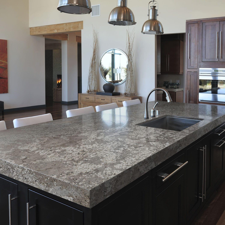 Granit-Arbeitsplatte / Küchen - BIANCO ANTICO - Cosentino