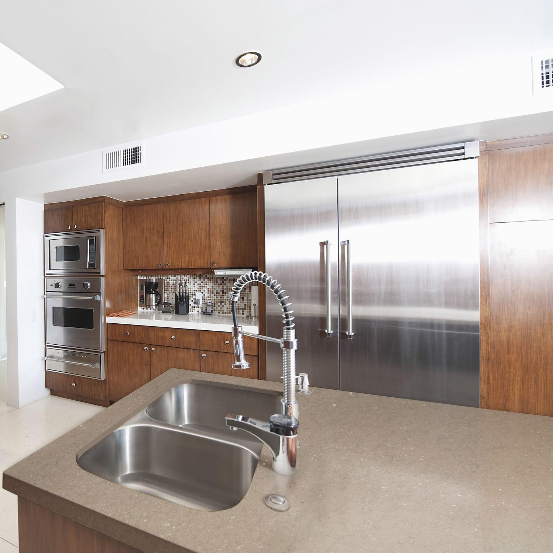 Silestone®-Arbeitsplatte / Küchen - CORAL CLAY - Cosentino
