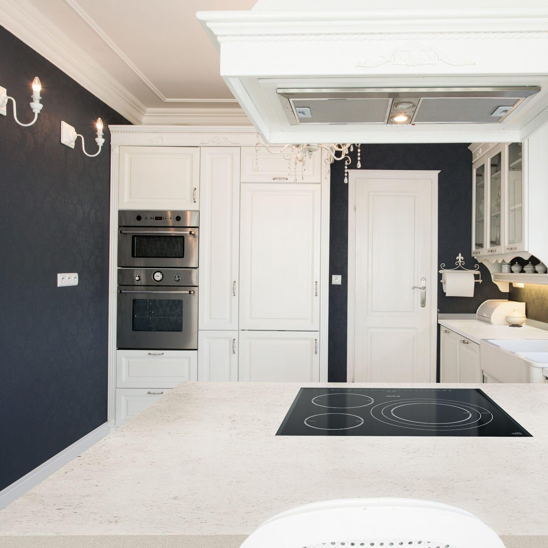 Verbundwerkstoff Arbeitsplatte / Küchen / Weiß / Beige   BLANC CONCRETE