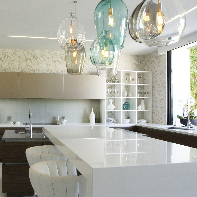 Verbundwerkstoff Arbeitsplatte / Küchen / Weiß / Grau   HALO