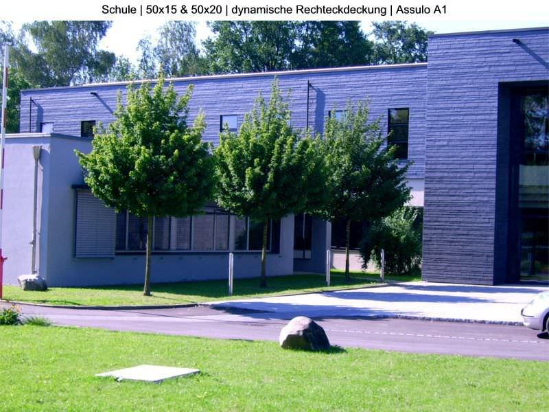 Schiefer-Verblendstein / Außenbereich - RECTANGULAR ASSULO® A1 ...