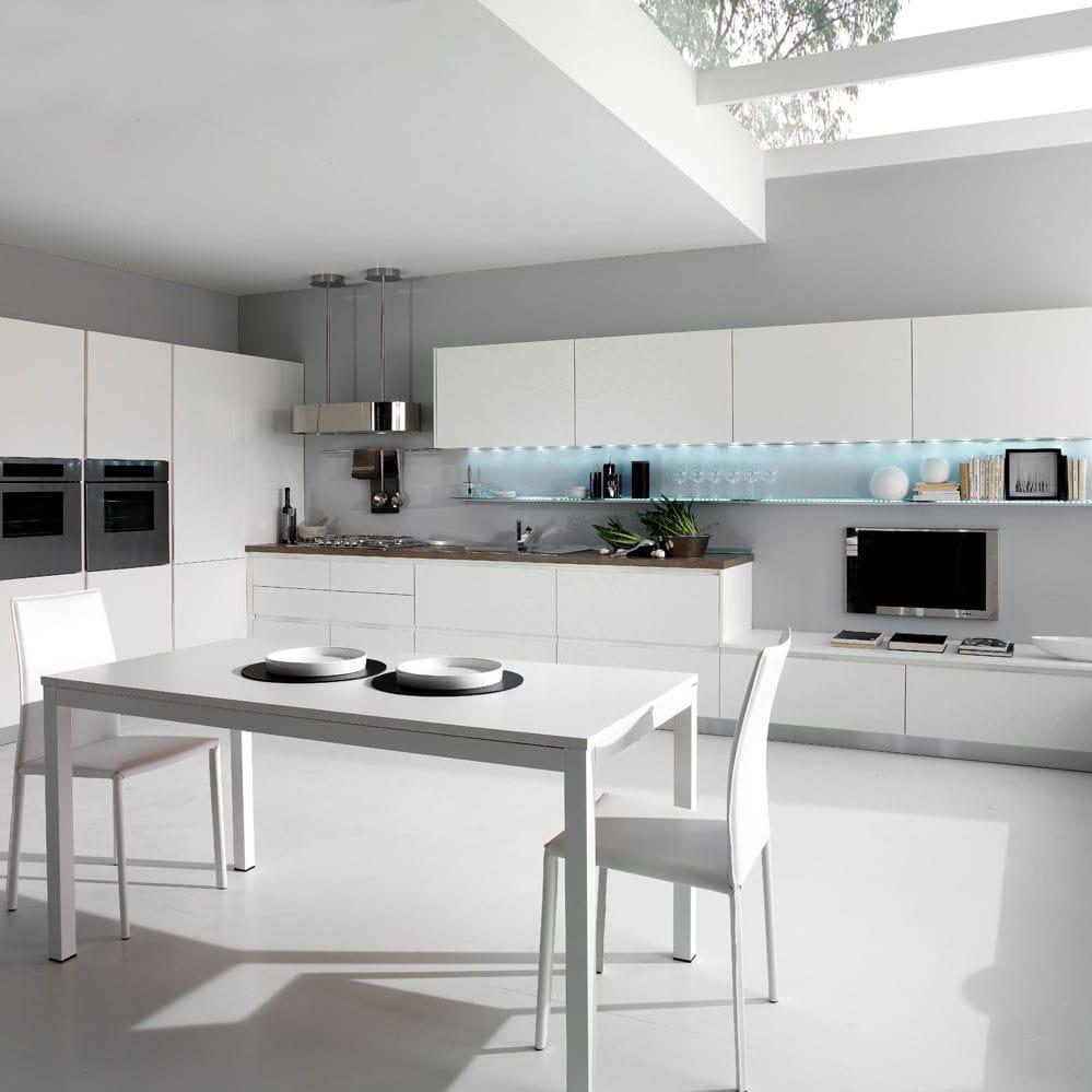 Moderne küche / holz / lackiert   spazio   torchetti cucine