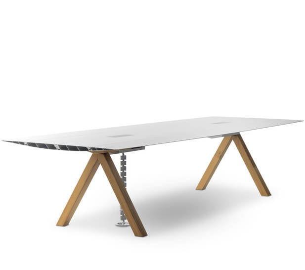 Holz-Schreibtisch / Aluminium / modern / von Konstantin Grcic - B ...