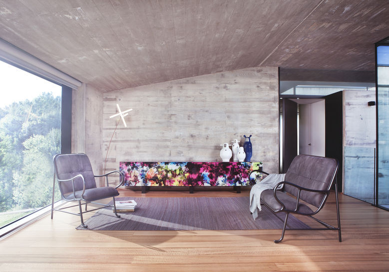 ... Moderner Sessel / Aus Aluminiumguss / Hochlehner / Von Jaime Hayon  GARDENIAS INDOOR BD Barcelona Design