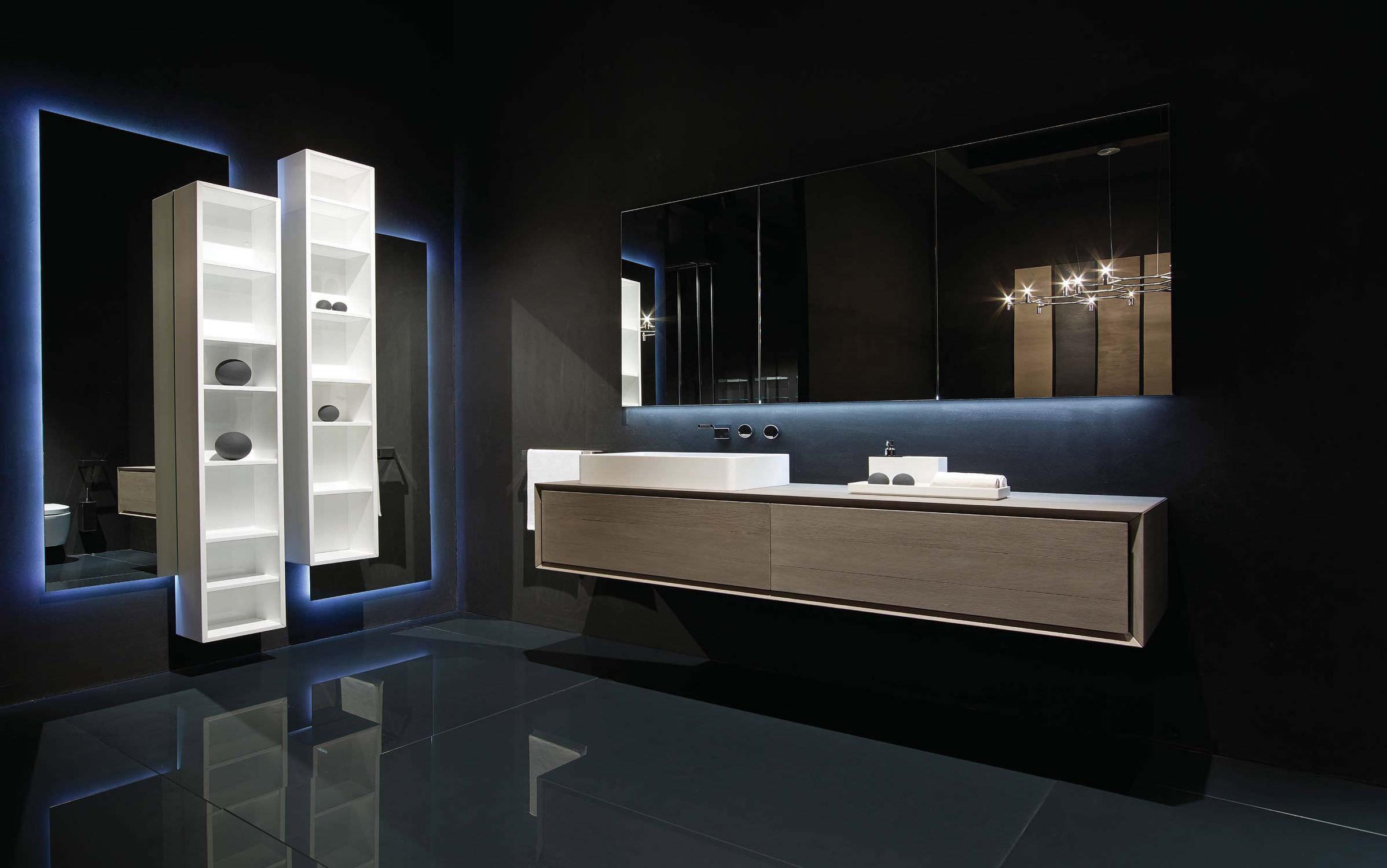 Säulenschrank für Badezimmer / modern - K.ONE - RI.FRA MOBILI