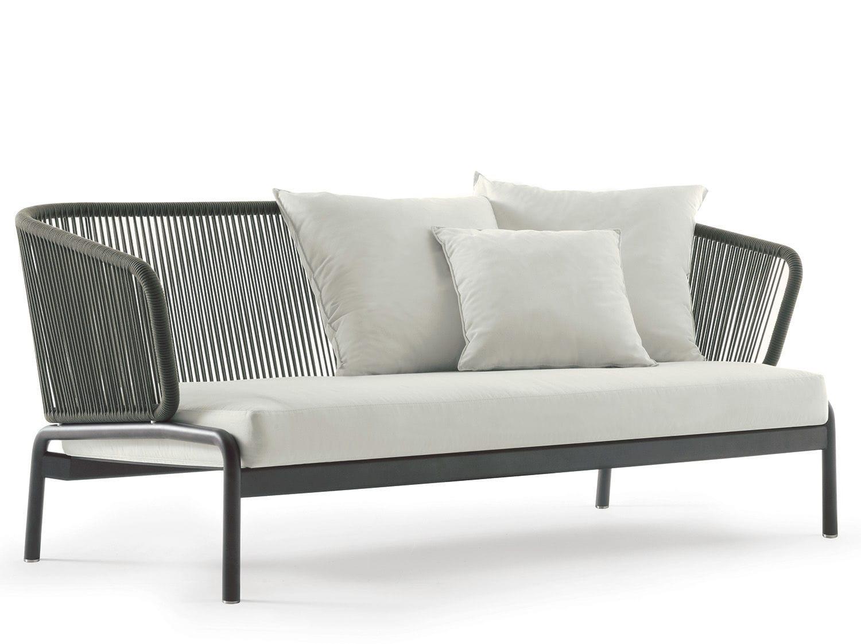 ... Modernes Sofa / Für Den Garten / Stoff / Metall ...