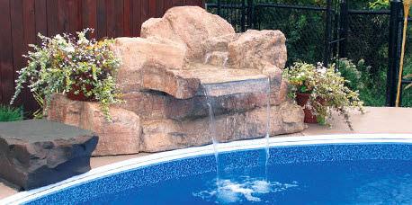 GroBartig Wasserfall Für Pool
