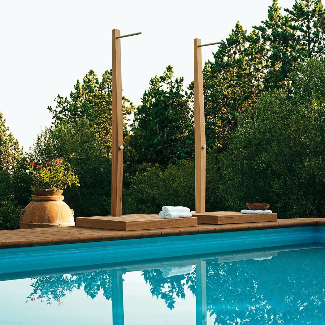 Holz Außendusche / Für Privatgebrauch   TEA HOUSE By Paolo Bonazzi