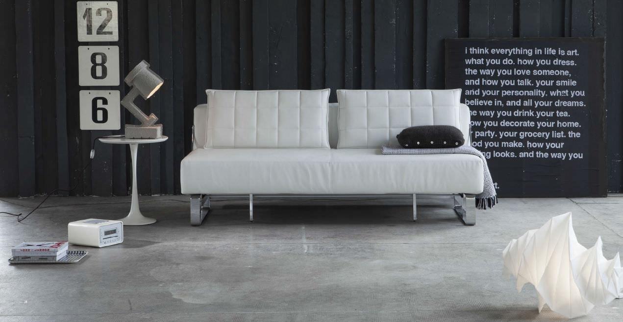 Bettsofa / modern / Stoff / 2 Plätze - LOUIS - Doimo Sofas