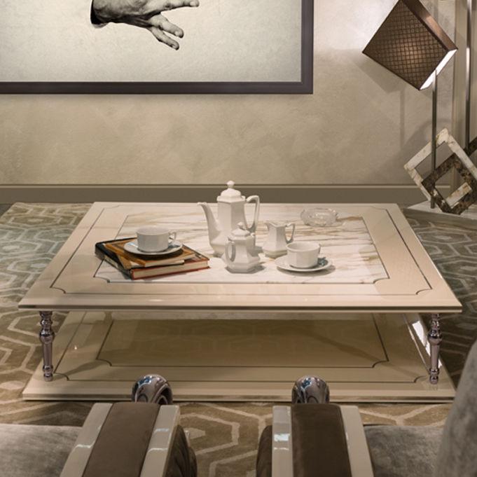 Couchtisch Art Deco Aus Marmor Nussbaum Aus Sperrholz