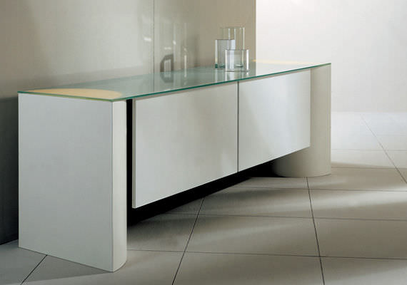 Sideboard holz glas  Modernes Sideboard / Holz / Glas - EDISON by Grella Ambrosi ...
