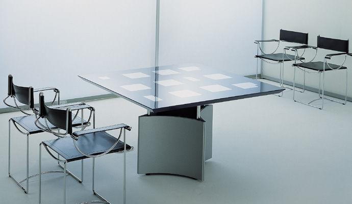 moderne esstisch / aus titan / quadratisch / für innenbereich, Esstisch ideennn
