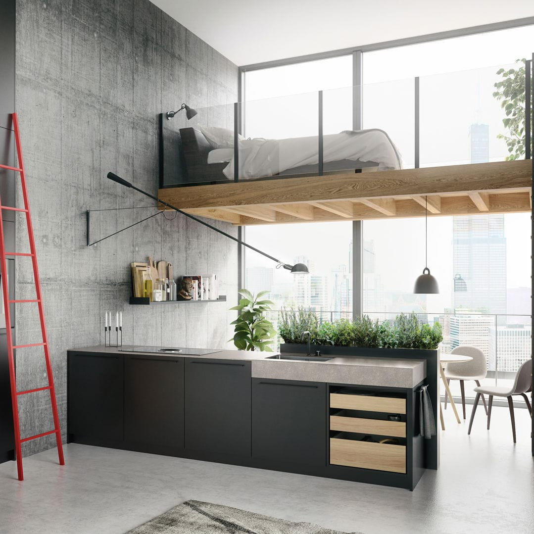 Moderne Kücheninsel kücheninsel se 8008 lm siematic