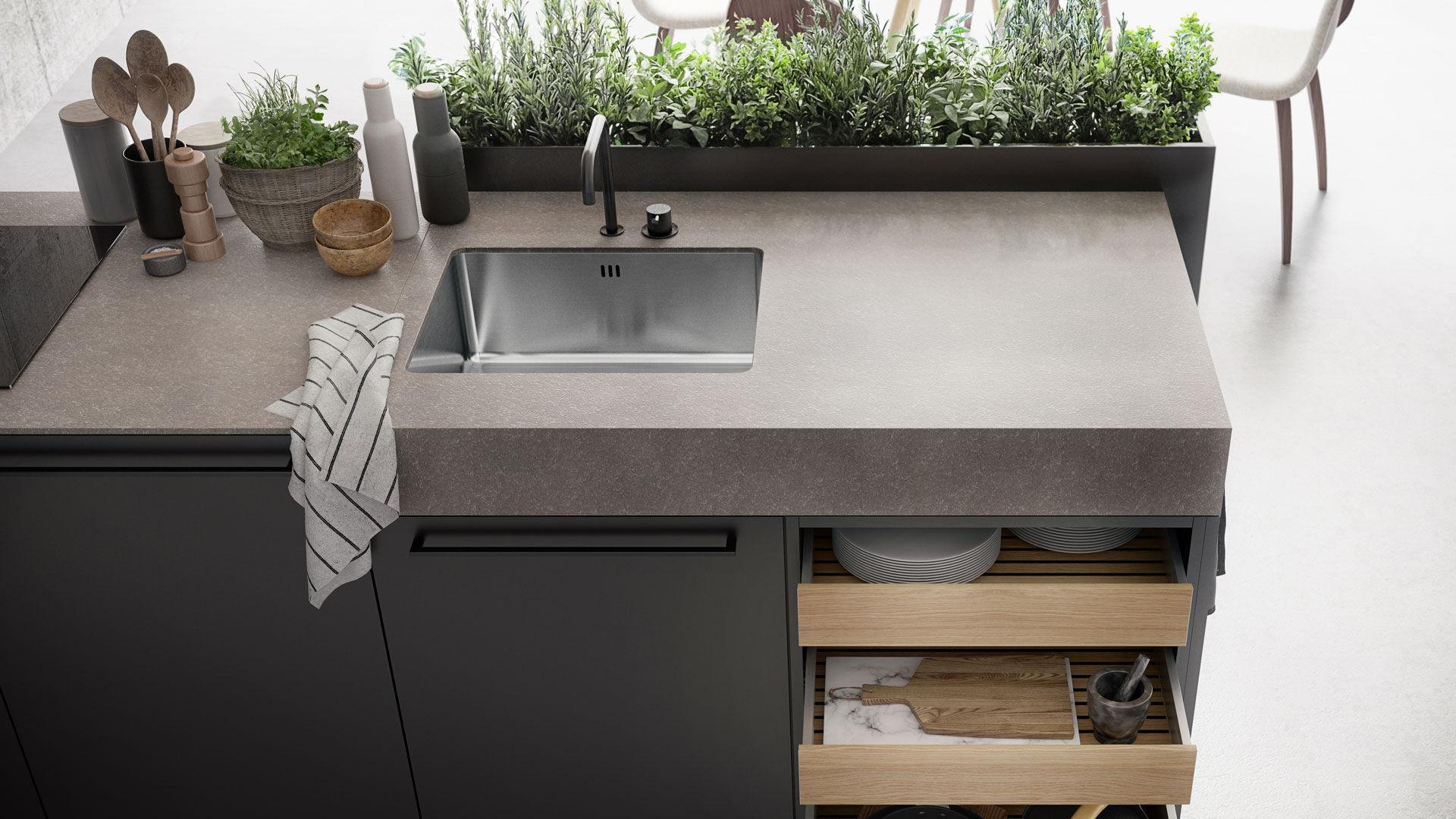 Kücheninsel - URBAN : SE 8008 LM - SIEMATIC