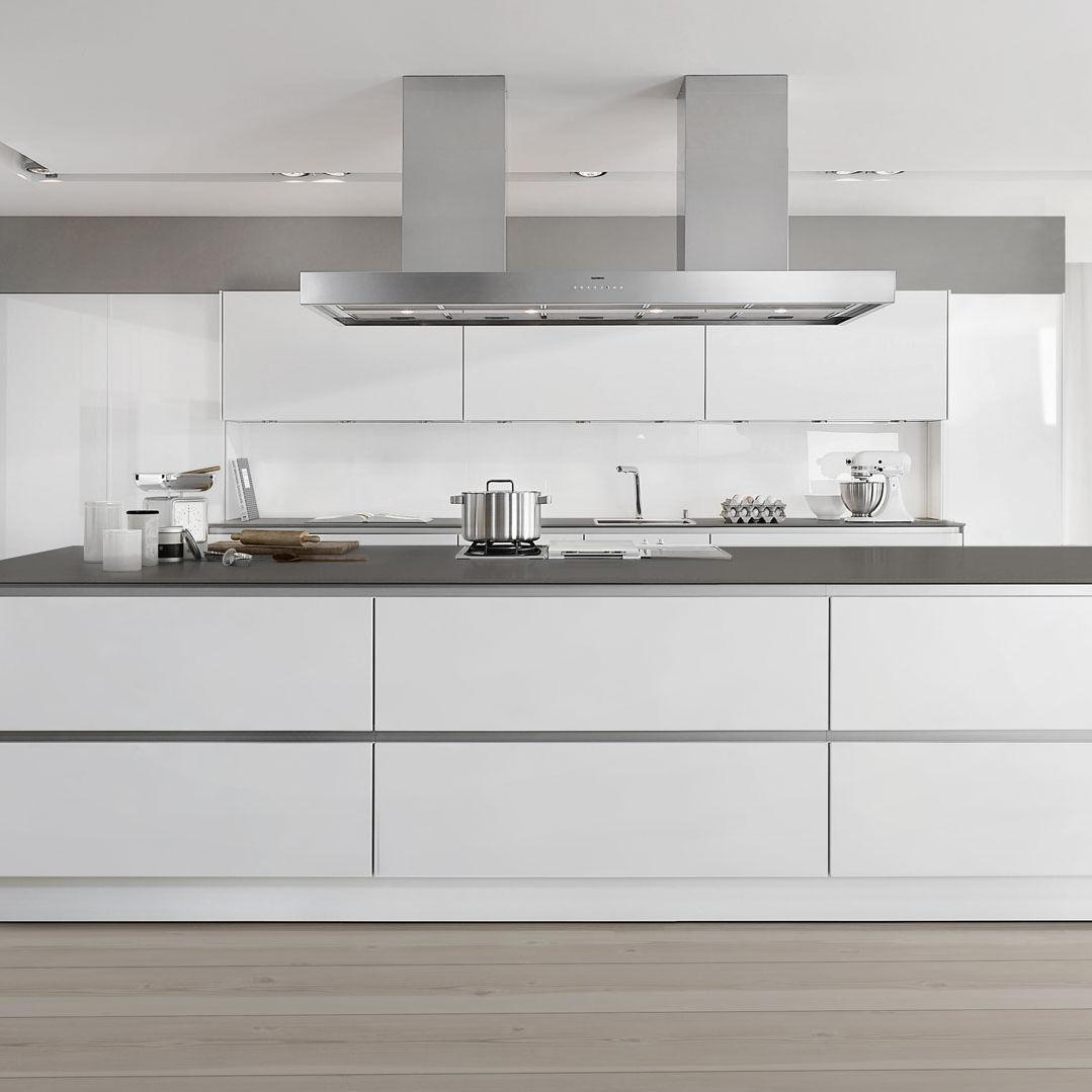 Keramik-Arbeitsplatte / Küchen / recycelt - INDESTRUCTIBLE - SIEMATIC
