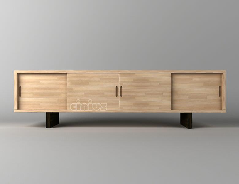 Sideboard holz  Modernes Sideboard / Holz - JACHI - Cinius
