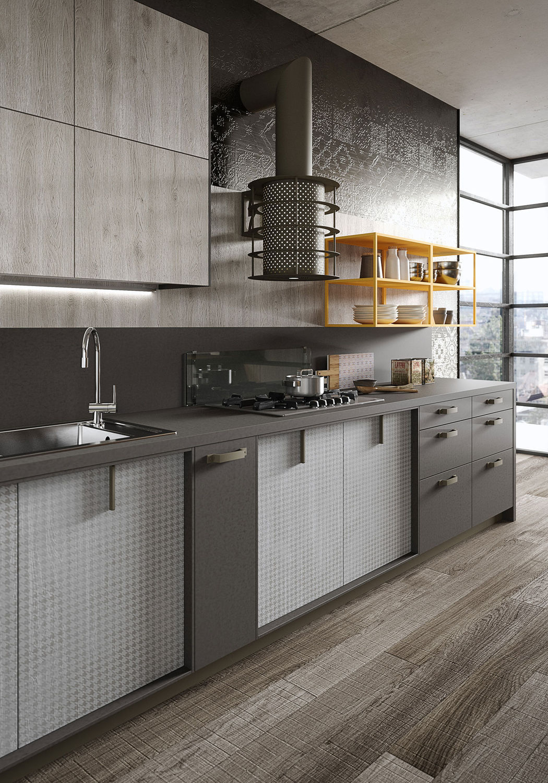 moderne küche / laminat - loftmichele marcon - snaidero