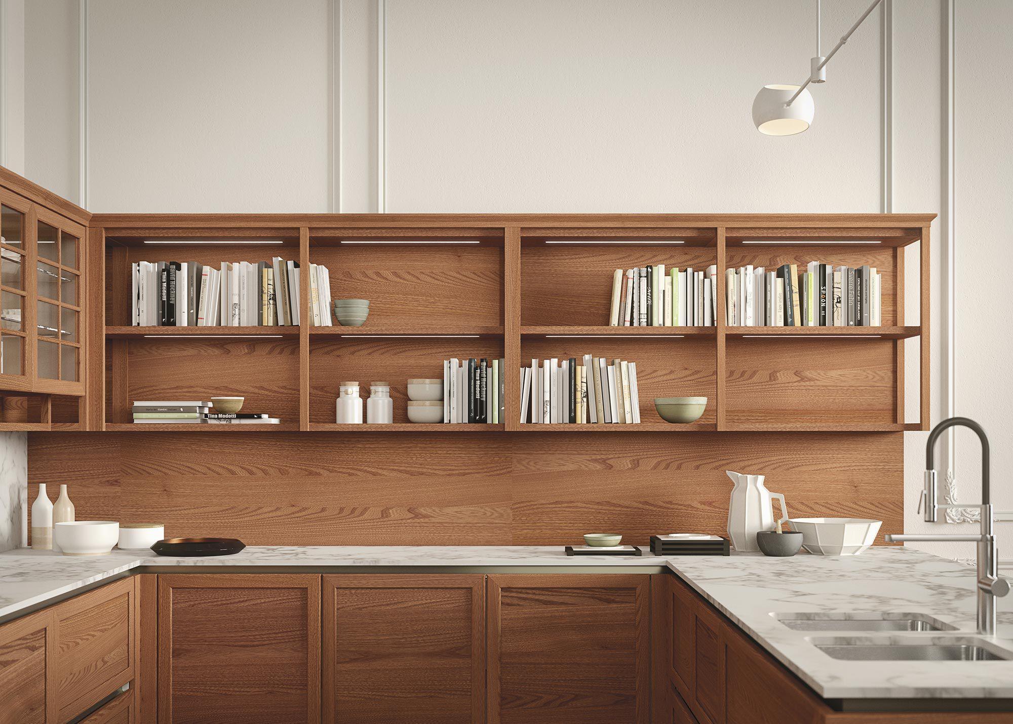 ... Klassische Küche / Ulme / Modul / Kochinsel HERITAGE By Iosa Ghini Design  SNAIDERO ...