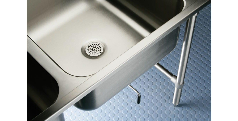 Spülbeckenunterschrank auf Füßen / für Profi-Küchen - WNSF8236LR - Elkay