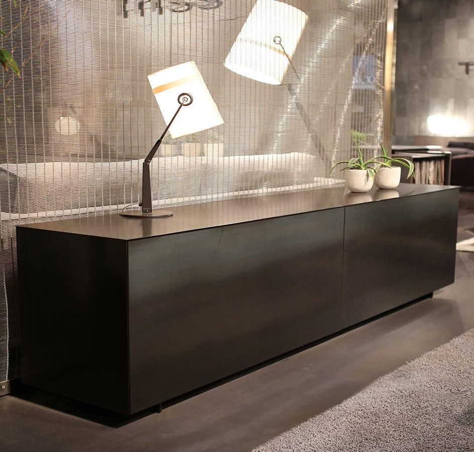Modernes Sideboard Laminat Weiss Schwarz 180 240 Triss