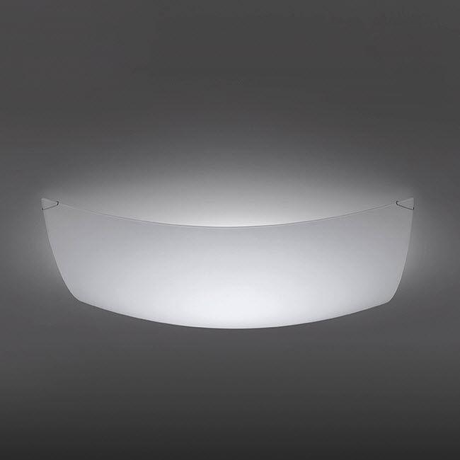 Moderne Deckenleuchte / quadratisch / Glas / LED - QUADRA ICE by ...