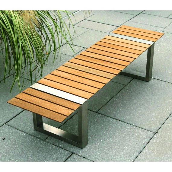 2017 Gartenbank Holz Modern