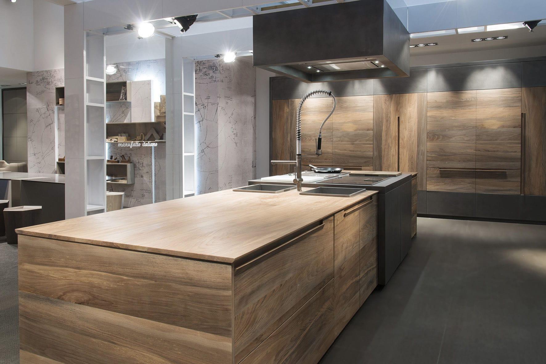 Moderne Kücheninsel - ESSENCE - TONCELLI