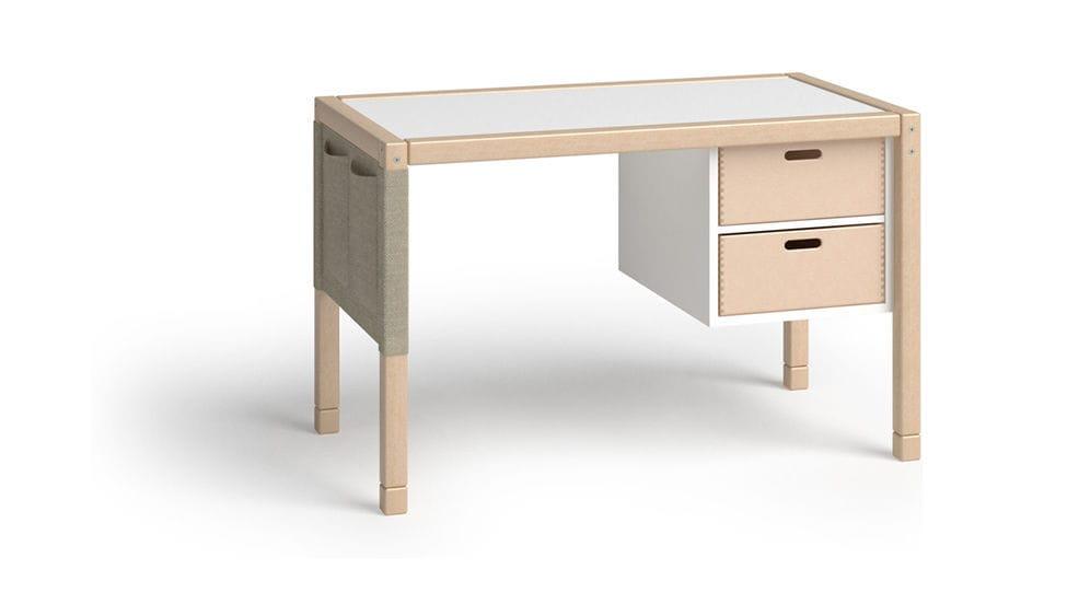 Schreibtisch Stauraum holz-schreibtisch / modern / für kinder / integrierter stauraum
