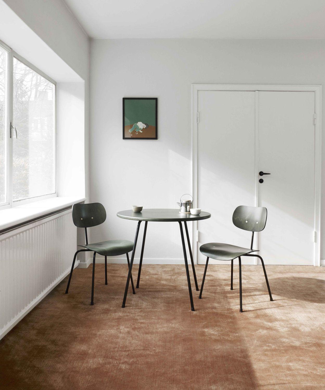 ... Moderner Tisch / Metall / Rund / Gewerbe ...