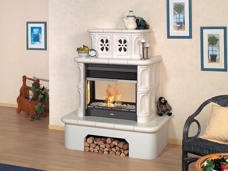 Bioethanol Kamin / Modern / Geschlossene Feuerstelle / Einbau   LEONARDO 4